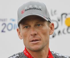 Lance Armstrong on the eve of the Tour de France last summer.