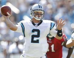Jimmy Clausen will replace Matt Moore as the starting quarterback for the Carolina Panthers Sunday against Cincinnati.