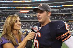 Bears QB Jay Cutler has led his team to a 2-0 start this year.