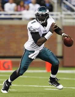 Michael Vick was sensational in leading the Eagles to a win over the Lions on Sunday. Still, coach Andy Reid insists that Kevin Kolb will be the starting quarterback when he is healthy.