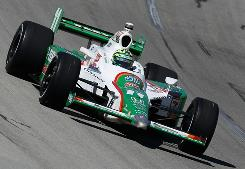 Tony Kanaan sits at seventh place in the IRL standings.