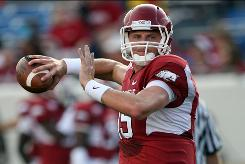 "Quarterback Ryan Mallett says this Arkansas team is more mature than the one Alabama routed last year. ""This is a whole different story,"" he said."