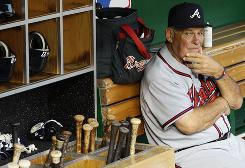 Bobby Cox, in his final year as manager in Atlanta, is hoping the Braves' six games at home to close the season will yield a playoff wild-card slot.