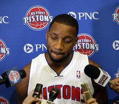 Tracy McGrady started 24 games for the New York Knicks last season. At 31, the former scoring champ is looking to revamp his career with the Detroit Pistons.