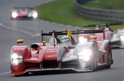 Allan McNish has won the Petit Le Mans nine times for German carmaker Audi. McNish will lead Audi in a shootout against French manufacturer Peugeot in the ALMS season finale.
