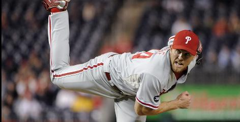 Phillies closer Brad Lidge, pitching Sept. 29 vs. the Nationals, struggled at times during the past two seasons but excelled after this year's All-Star break.