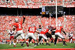 Quarterback Terrelle Pryor (2) and Ohio State moved into the No. 1 spot for the first time since the end of the 2007 season..