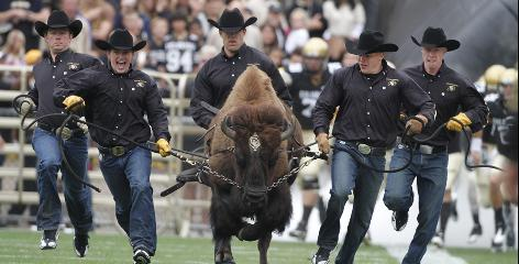 The Colorado Buffalo will be charging onto the field for Pac-10 games next season when the school leaves the Big 12.