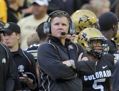 Dan Hawkins and his Colorado football team is making its last trek through the Big 12 before the school leaves the league to join the Pac-10 next season.