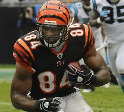 Bengals rookie Jermaine Gresham was third on the team in receptions after five weeks.