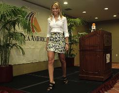 Ines Sainz said she will no longer conduct interviews in NFL locker rooms.