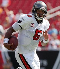 Five of Buccaneers quarterback Josh Freeman's seven career victories have come on fourth-quarter comebacks like Sunday's against the Rams.