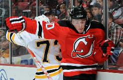 Devils defenseman Matt Taormina lived in three different U.S. areas before joining the NHL.