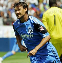 San Jose Earthquakes forward Chris Wondolowski had seven career MLS goals before this season. Wondolowski led the league with 18 during the 2010 regular season.
