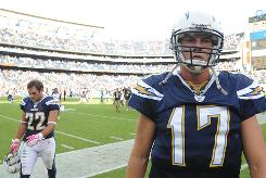 Philip Rivers and the Chargers fell to 2-5 after a loss to the Patriots on Sunday.