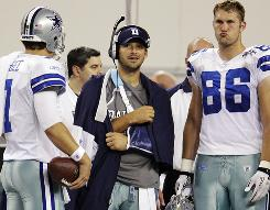 The Cowboys will be without Tony Romo for about 6-8 weeks after he was injured on Monday.