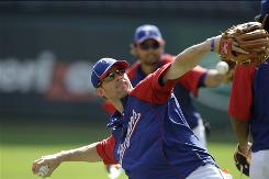 Third baseman Michael Young is in his 10th season with the Rangers, the only team he has played for in the majors.