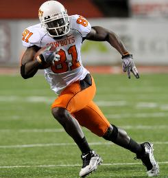 Oklahoma State will be without star wide receiver Justin Blackmon when the Cowboys face Kansas State.