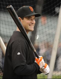 The Giants signed Pat Burrell, who had been released by the Tampa Bay Rays, on May 29. Signed to be a power bat off the bench, Burrell excelled in San Francisco and forced his way into the starting lineup.
