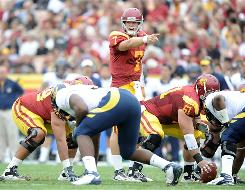USC quarterback Matt Barkley is on a streak of 119 passes without an interception.