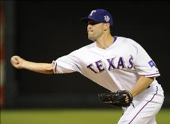 Rangers reliever Darren O'Day, who has given up two booming homers in the World Series, has a 7.71 ERA.