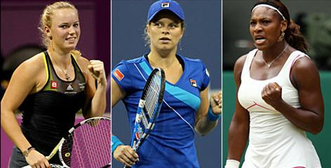 Caroline Wozniacki, Kim Clijsters and Serena Williams each made a case for themselves to be the WTA player of the year.
