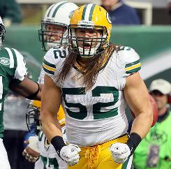 Clay Matthews is a front-runner for the NFL's Defensive Player of the Year award at the halfway point of the season.