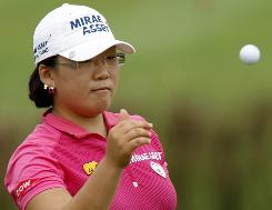 Jiyai Shin of South Korea is the current No. 1 in the women's world rankings, but there is a big scramble at the top ... just like in the men's game.