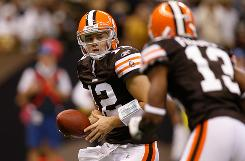 Injuries have give rookie Colt McCoy a chance to start for the Cleveland Browns.