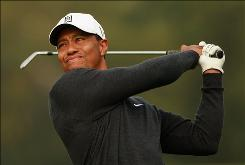 Tiger Woods, playing in a pro-am prior to the start of the WGC-HSBC in Shanghai, lost his stranglehold atop the World Golf Rankings to Lee Westwood last week.