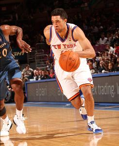 Rookie guard Landry Fields, taken 39th in the NBA draft out of Stanford, is averaging 9.8 points and 6.3 rebounds as a starter for the Knicks.