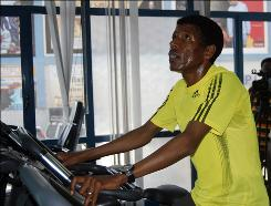 Haile Gebrselassie, training in Addis Ababa for the New York City Marathon on Oct. 26, hopes to prevent Meb Keflezighi from repeating as the race's champion.