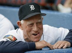Sparky Anderson managed 26 seasons and compiled a career record of 2,194-1,834.