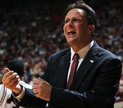 Tom Crean, in his third season with Indiana, is trying to rebuild the Hoosiers program.