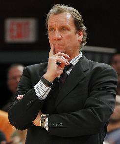 Flip Saunders: Frustrated with team.
