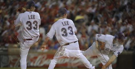 Cliff Lee, 32, was a combined 12-9 with a 3.18 ERA this season for the Seattle Mariners and Texas Rangers in 2010.