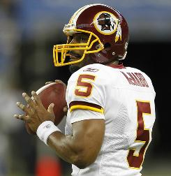 Donovan McNabb and the Redskins return from their bye Nov. 15 against Philadelphia.