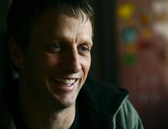 Tony Hawk has written a new book, How Did I Get Here? The Ascent of an Unlikely CEO.