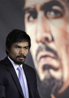 Manny Pacquiao believes that everything that happens is the will of God.