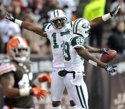 The Jets improved to 7-2 with a win in overtime on Sunday at Cleveland.