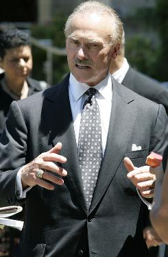 Former Pittsburgh Steelers running back Rocky Bleier now tours the motivational speaking circuit.