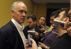Mets general manager Sandy Alderson says if MLB adds another wild-card team, he'd be in favor of a best-of-three first round.