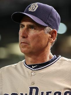 Bud Black managed the San Diego Padres to a surprise second-place finish in the NL West.
