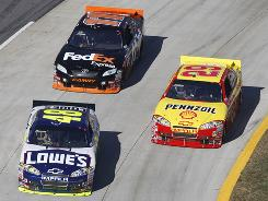 NASCAR hopes that declining TV ratings and attendance will take an upswing as fans adapt to rules changes and a new generation of drivers.