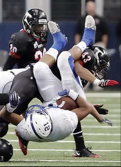 Harvey Langi and Bingham (South Jordan, Utah) capped off a perfect season with a 30-7 win over Fremont in the Utah Class 5A state championship.