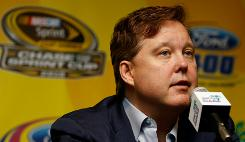 NASCAR chairman Brian France says he's confident the sport's popularity will remain, especially in the wake of this year's narrow title race.