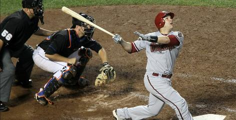 Miguel Montero has won the starting catcher job with solid defense and a .266 batting average in 2010.