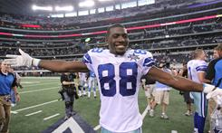 Dez Bryant leads the Cowboys with eight total touchdowns this season.