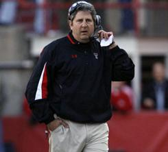 Texas Tech coach Mike Leach is seeking damages from ESPN and a public relations firm in a lawsuit.