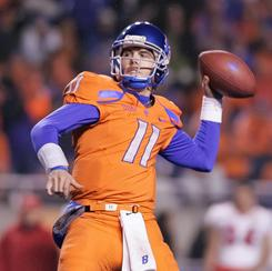 Quarterback Kellen Moore and Boise State are ranked third in the USA TODAY/ESPN Coaches Poll and fourth in the BCS standings.